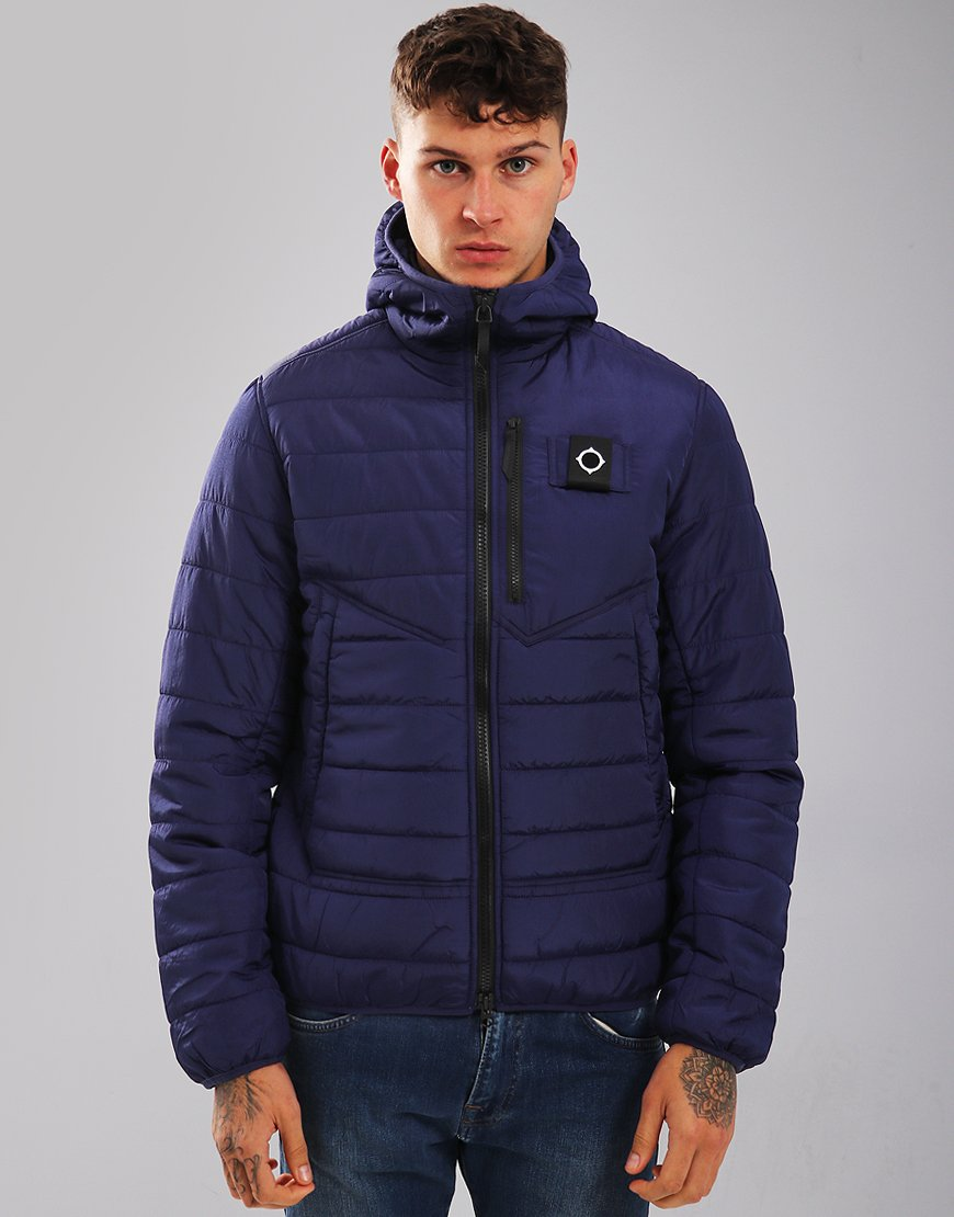 MA.Strum Pegasus Quilted Jacket Dark Indigo