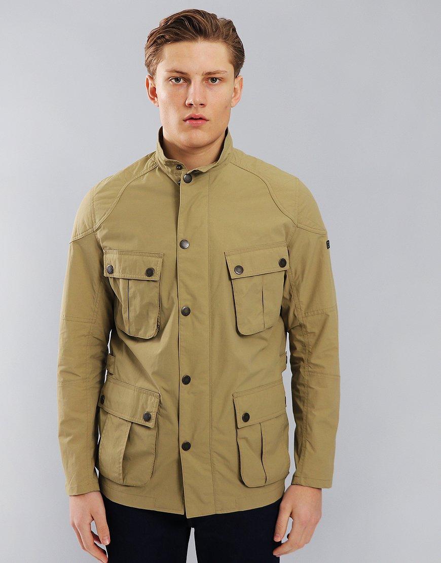 Barbour International Guard Jacket Sand