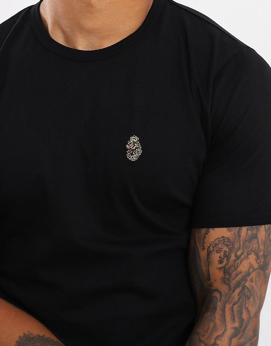 Junior Boys Luke 1977 Trouser Snake T-Shirt In Black