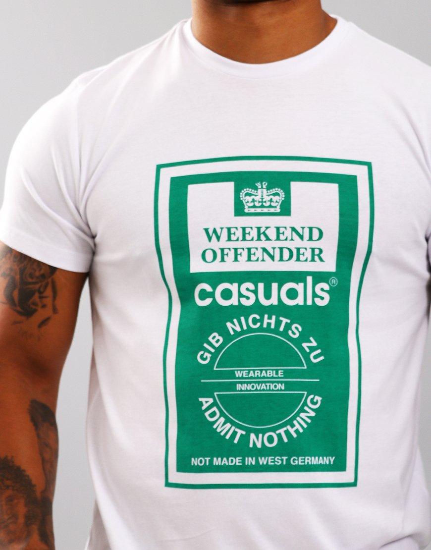 Weekend Offender Gib Nichts Zu T-Shirt White