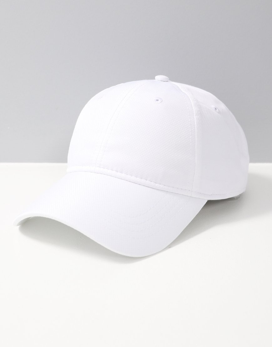 Lacoste Polyester Cap White