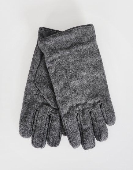 Gant Melton Gloves Charcoal