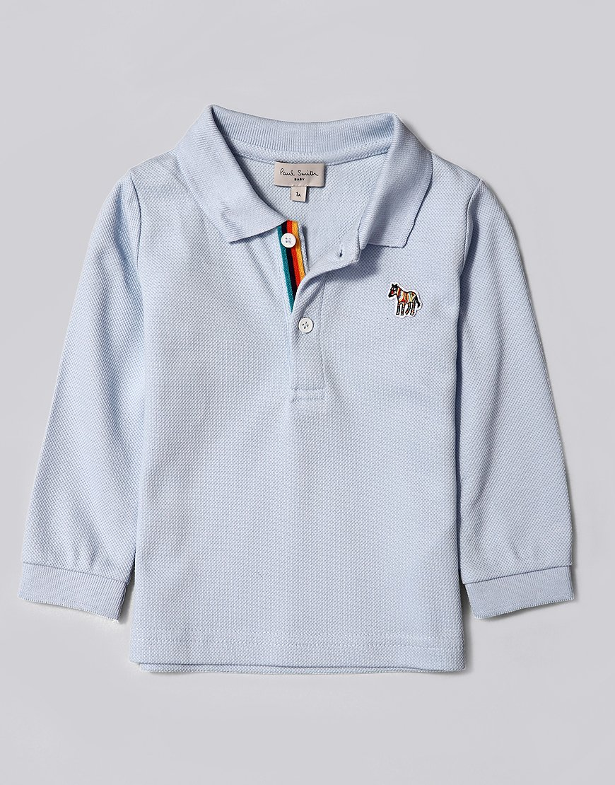 Paul Smith Junior Samir Polo Shirt Light Blue