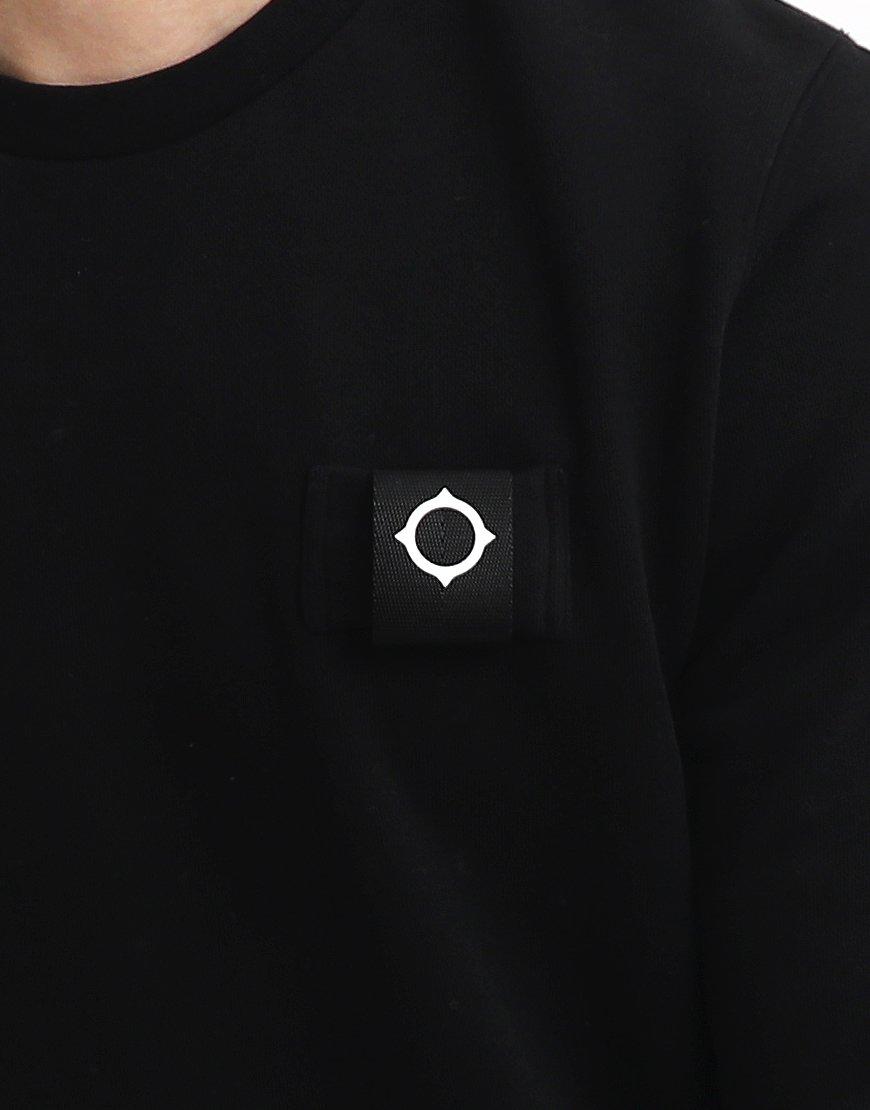 MA.Strum Training Crew Sweatshirt Black