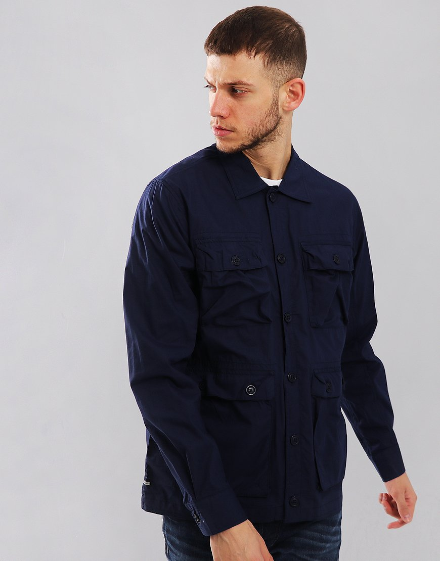 Weekend Offender Salinger Overshirt French Navy