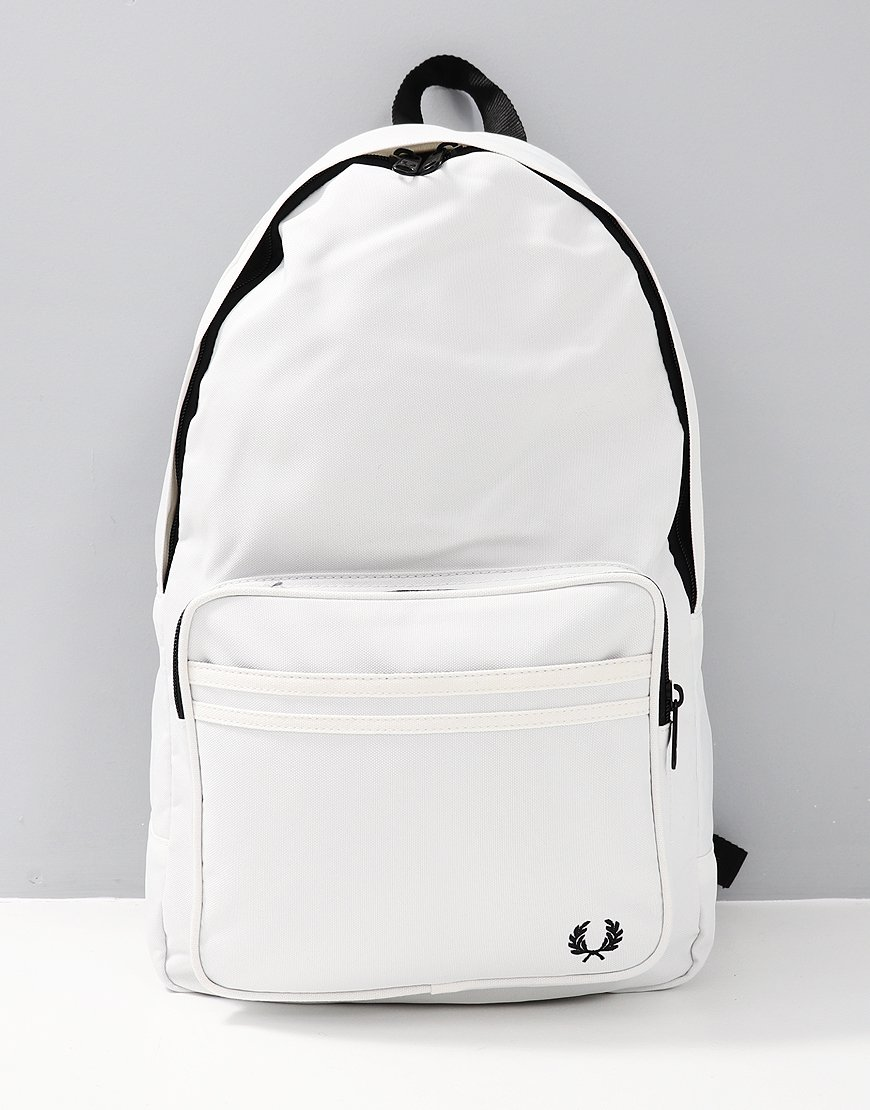 Fred Perry Twin Tipped Rucksack White