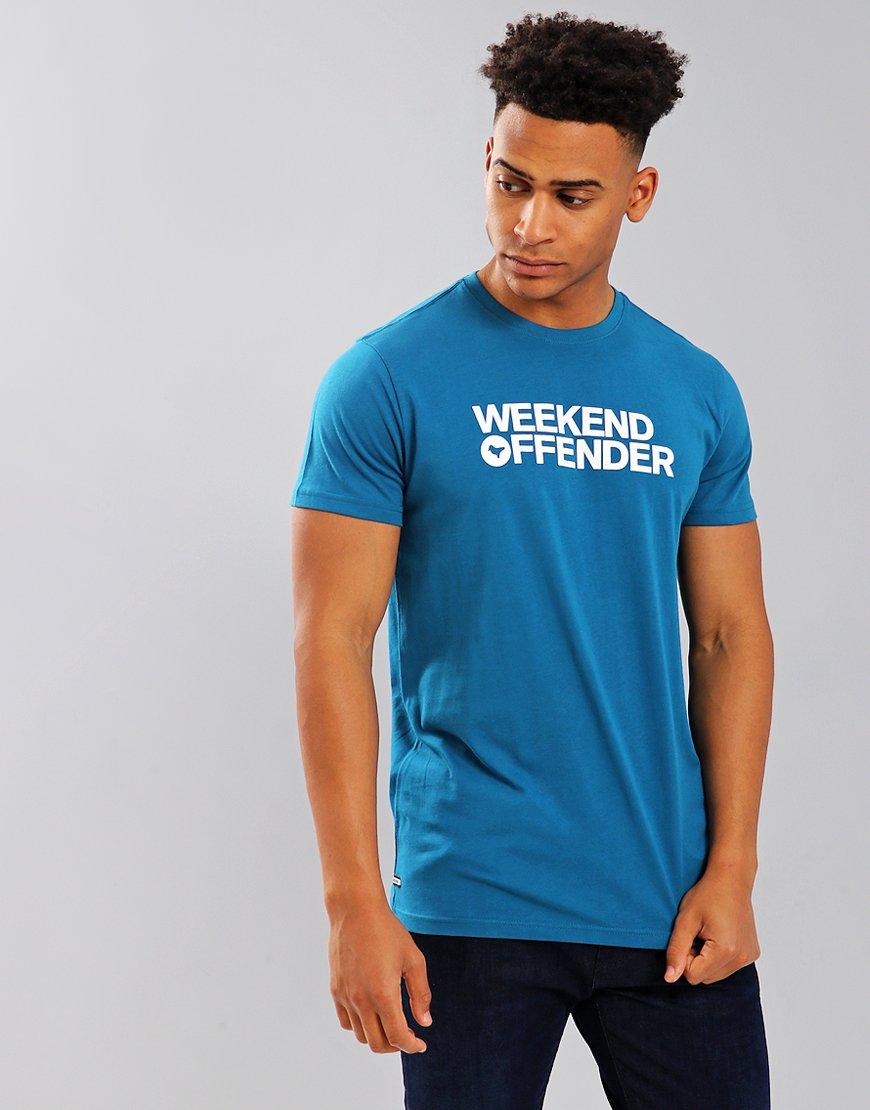 Weekend Offender Godin T-Shirt Petrol
