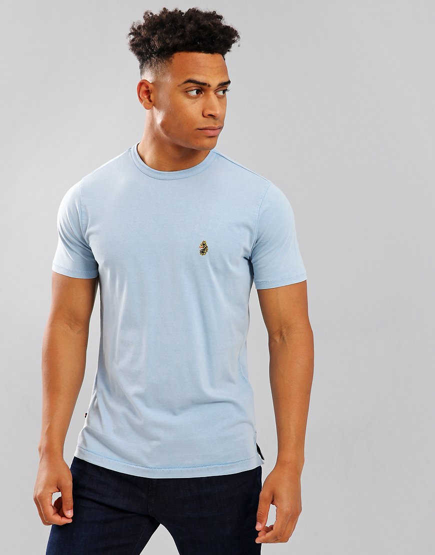 Luke 1977 Plonda T-shirt Blue Cement
