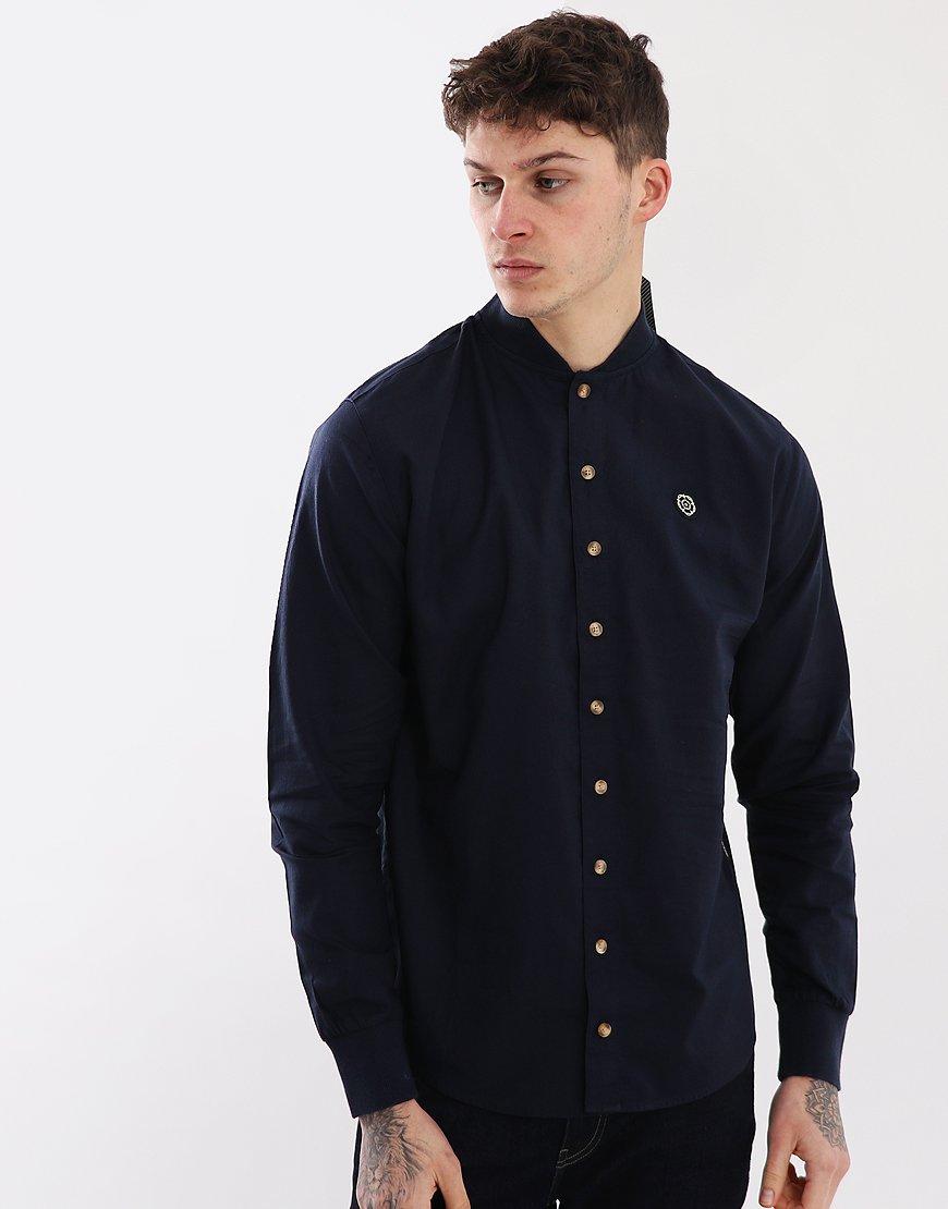 Nicholas Deakins Roughneck Shirt Navy