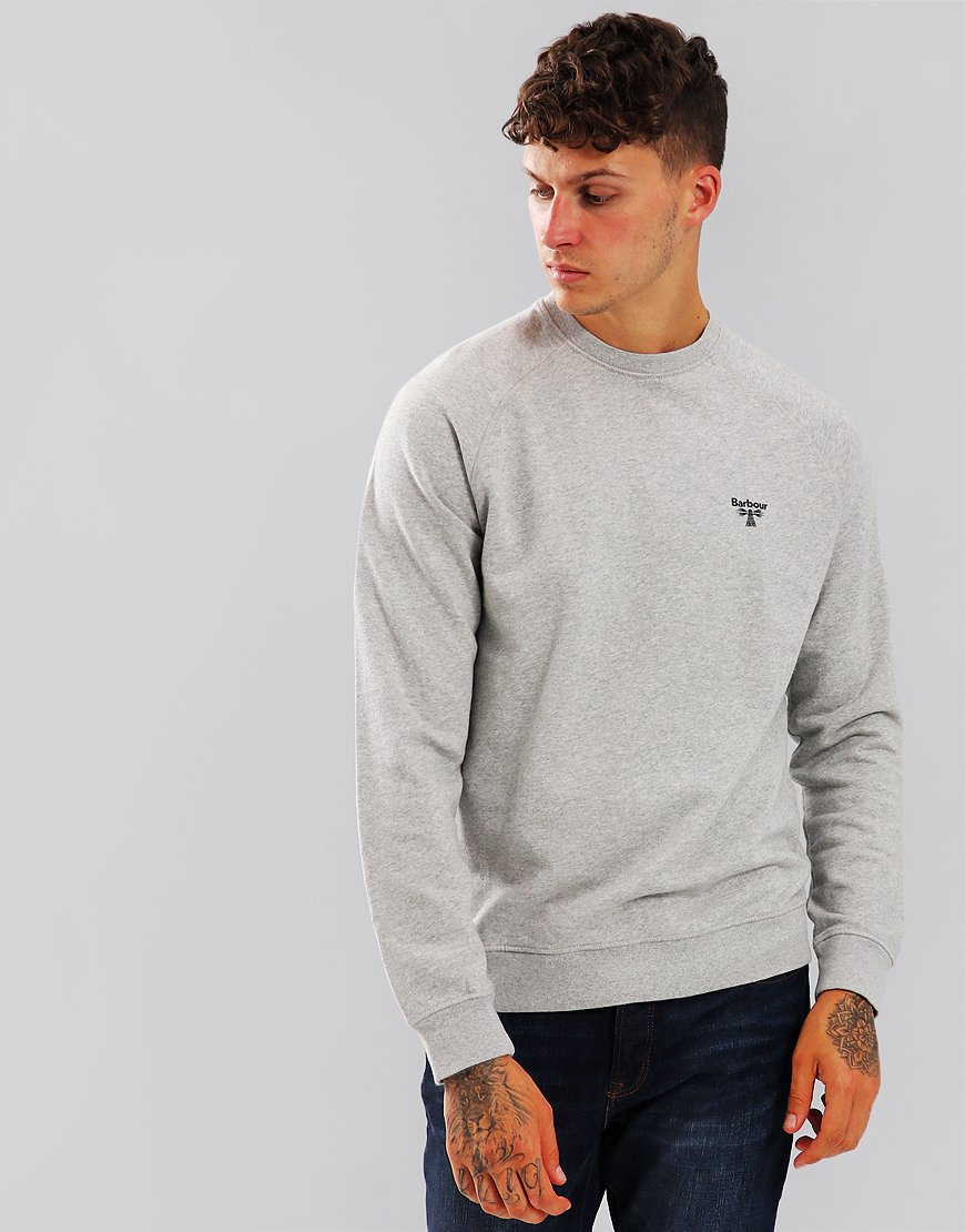 Barbour Beacon Crew Sweat Grey Marl