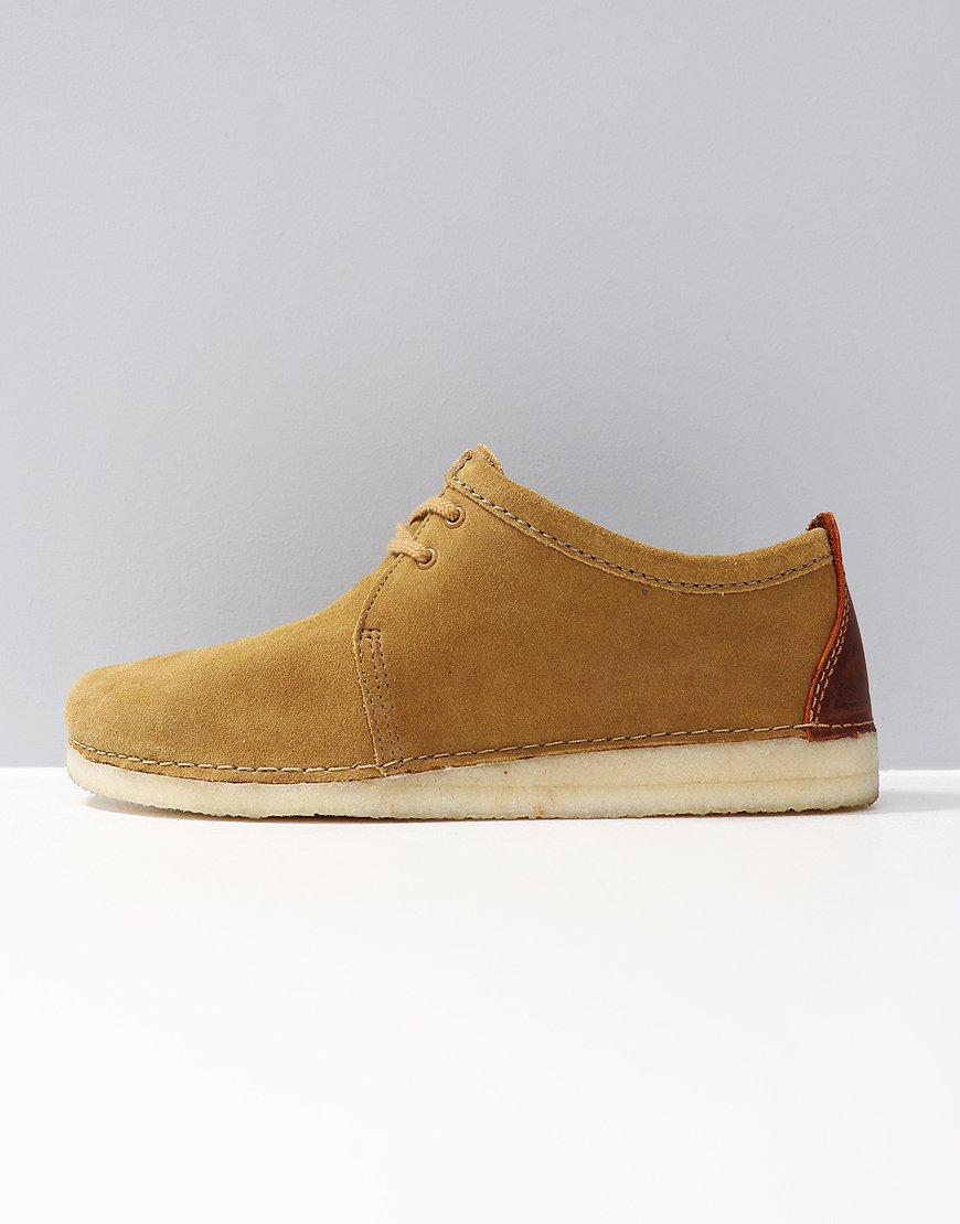 Clarks Originals Ashton Shoe Oak Suede