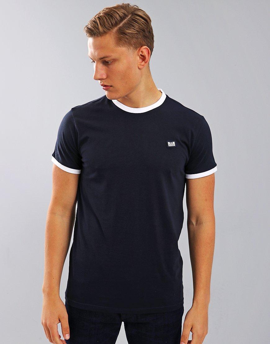 Weekend Offender Scheter T-Shirt Navy