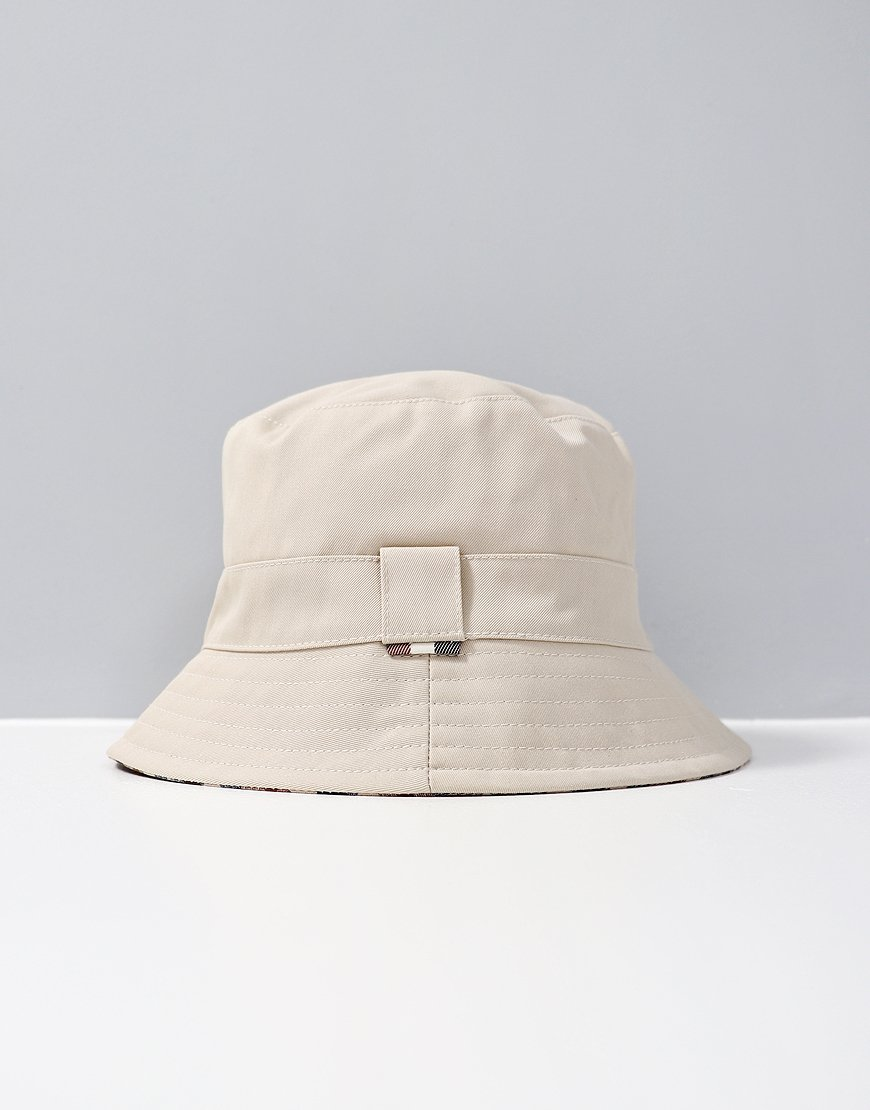 821359e157f Aquascutum Reversible Bucket Hat Beige