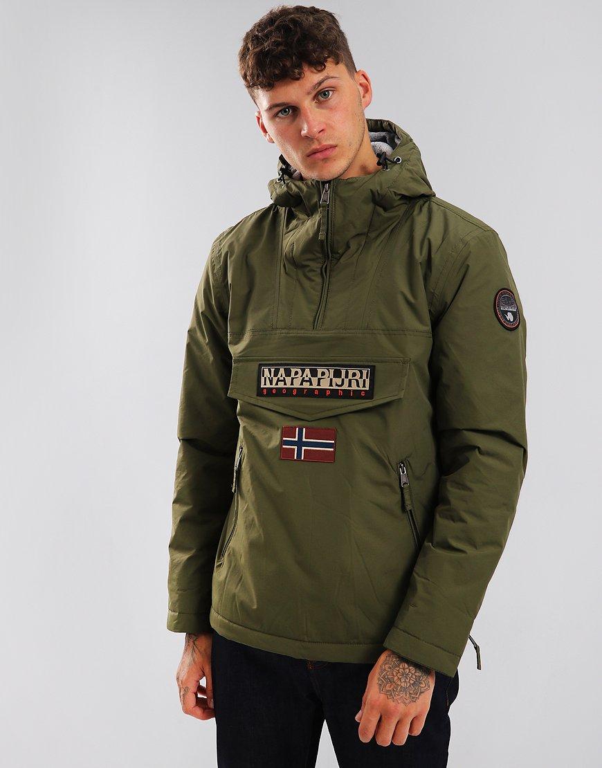Napapijri Rainforest Winter Pocket Jacket Green Musk