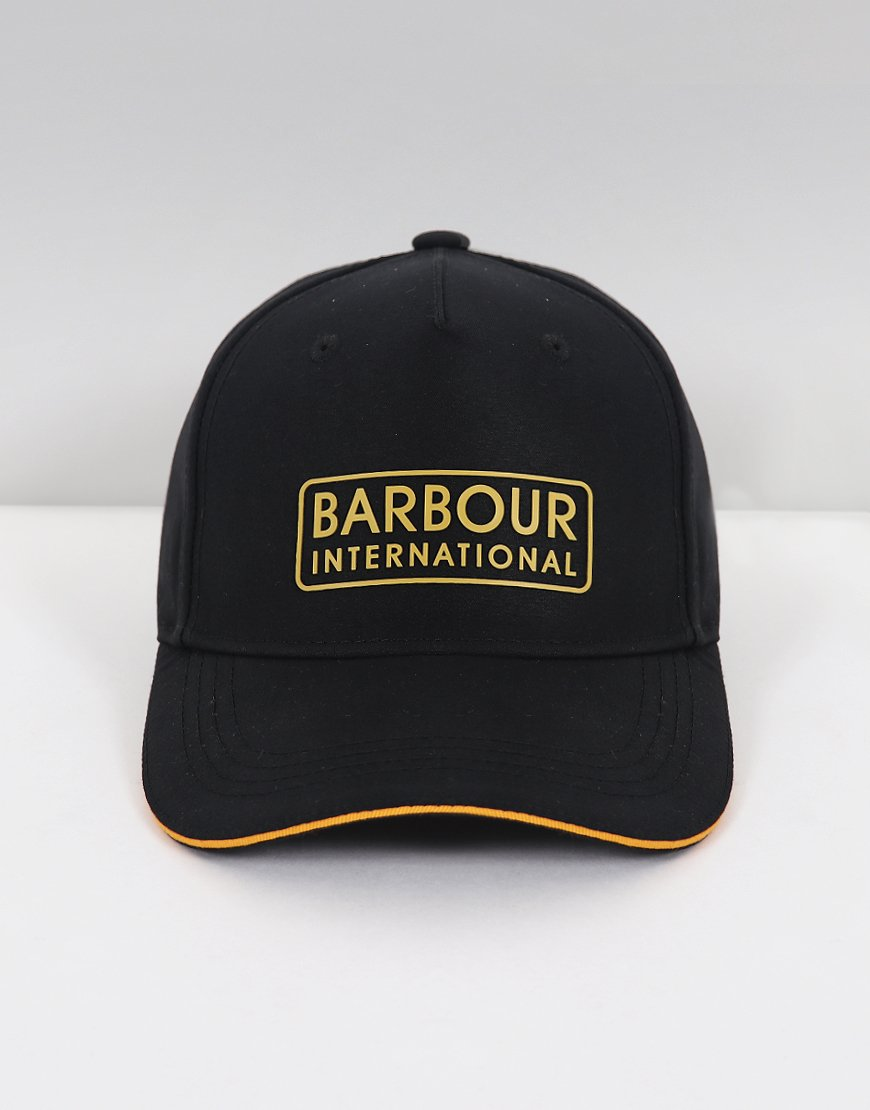 Barbour International Hudson Sports Cap  Black