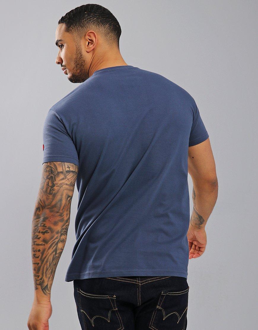 Eighties Casuals Grim Up North T-Shirt Blue