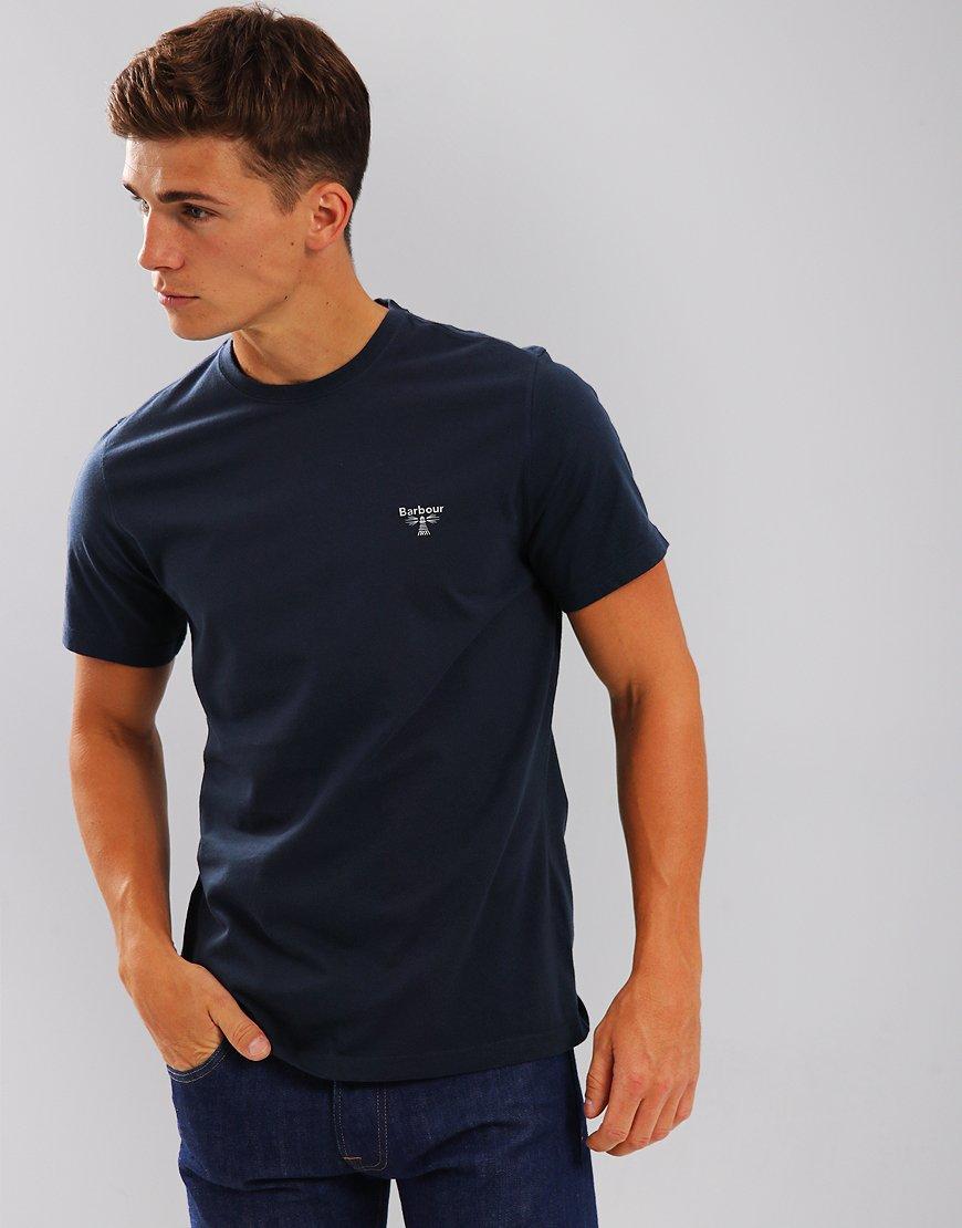 Barbour Beacon Logo T-Shirt Navy