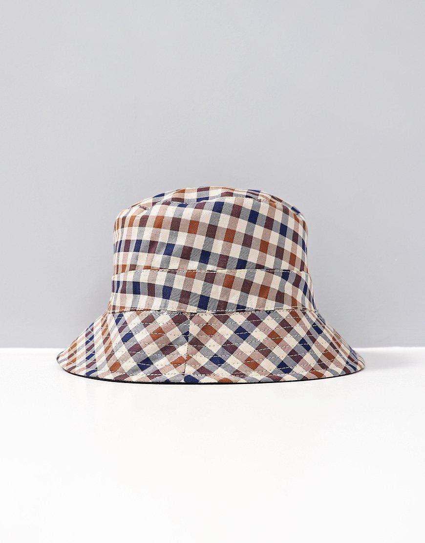 fc6709174a6 Aquascutum Reversible Bucket Hat Beige - Terraces Menswear