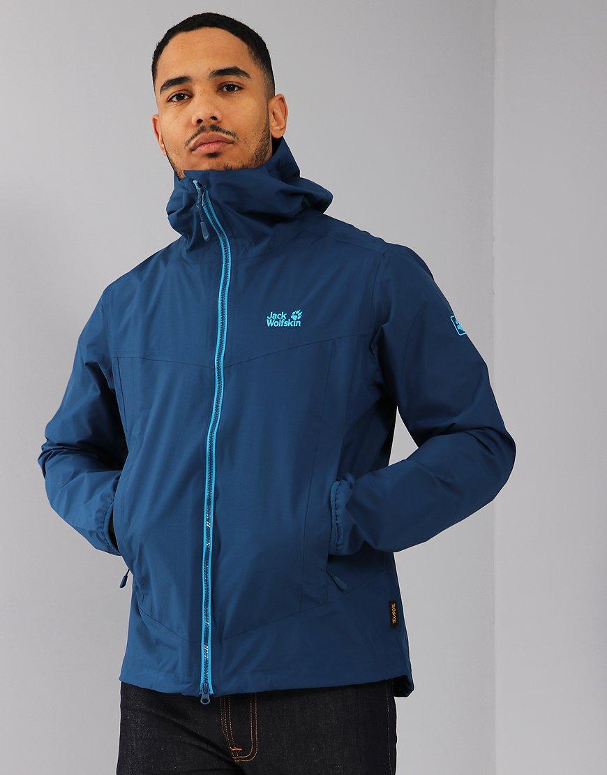 Jack Wolfskin Colourburst Jacket Poseidon Blue