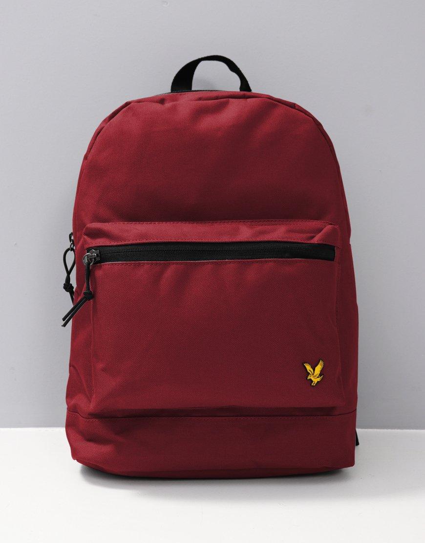 Lyle & Scott Backpack Claret Jug