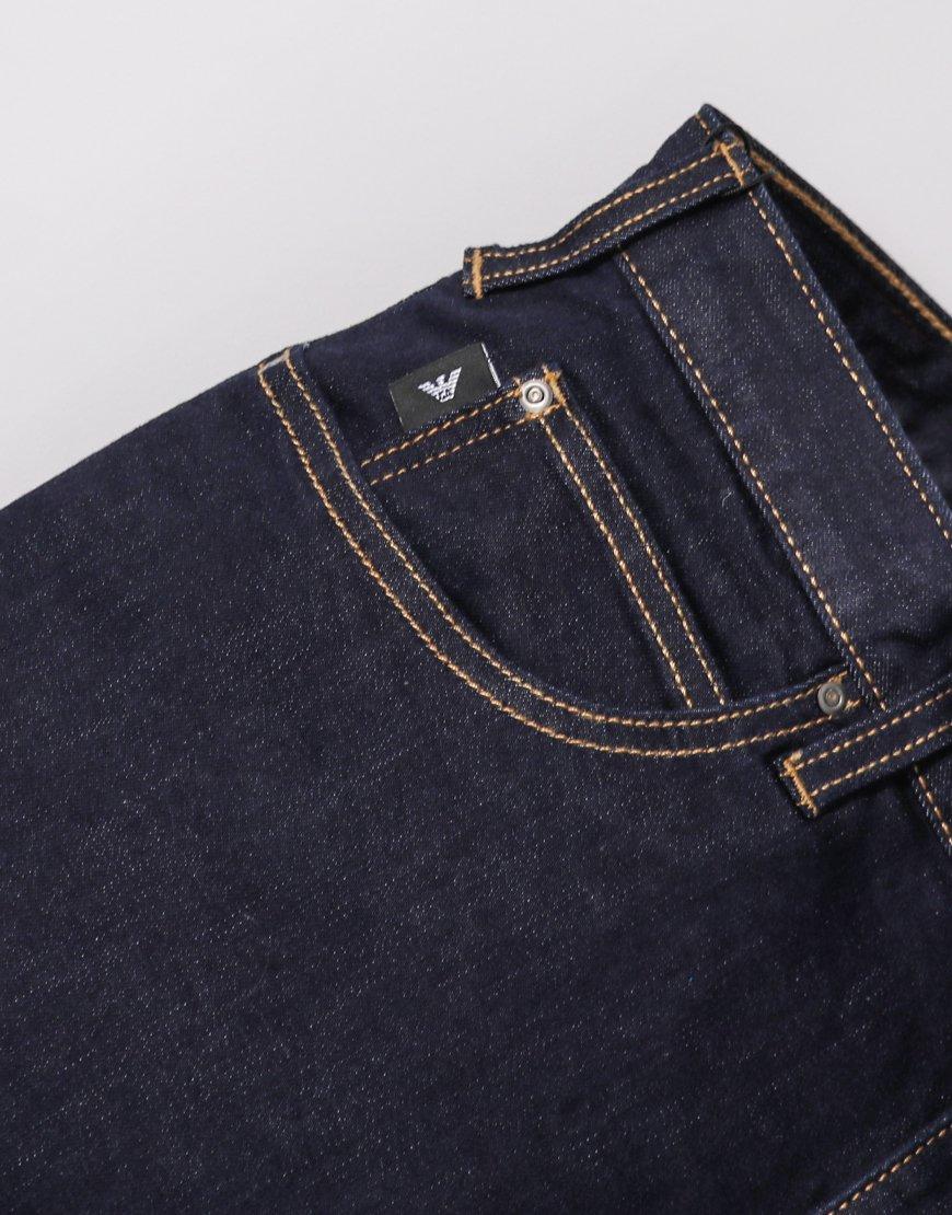 1d1302044042 Emporio Armani J21 Regular Fit 1DLPZ Jeans - Terraces Menswear