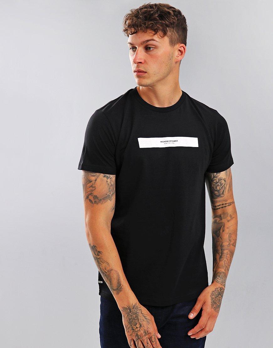 Weekend Offender Box Capsule T-Shirt Black