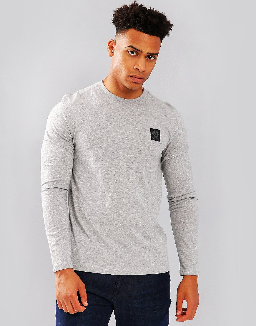 Belstaff Trenham Long Sleeve T-Shirt Grey