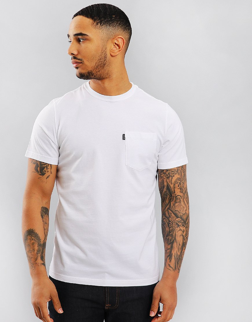 Barbour Essential Pocket T-Shirt White