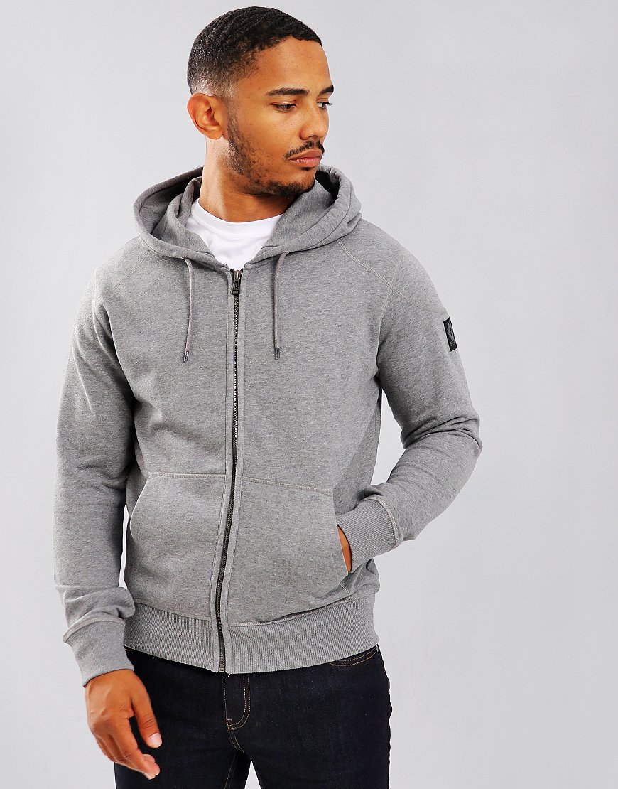 Belstaff Wentworth Hooded Sweat Grey