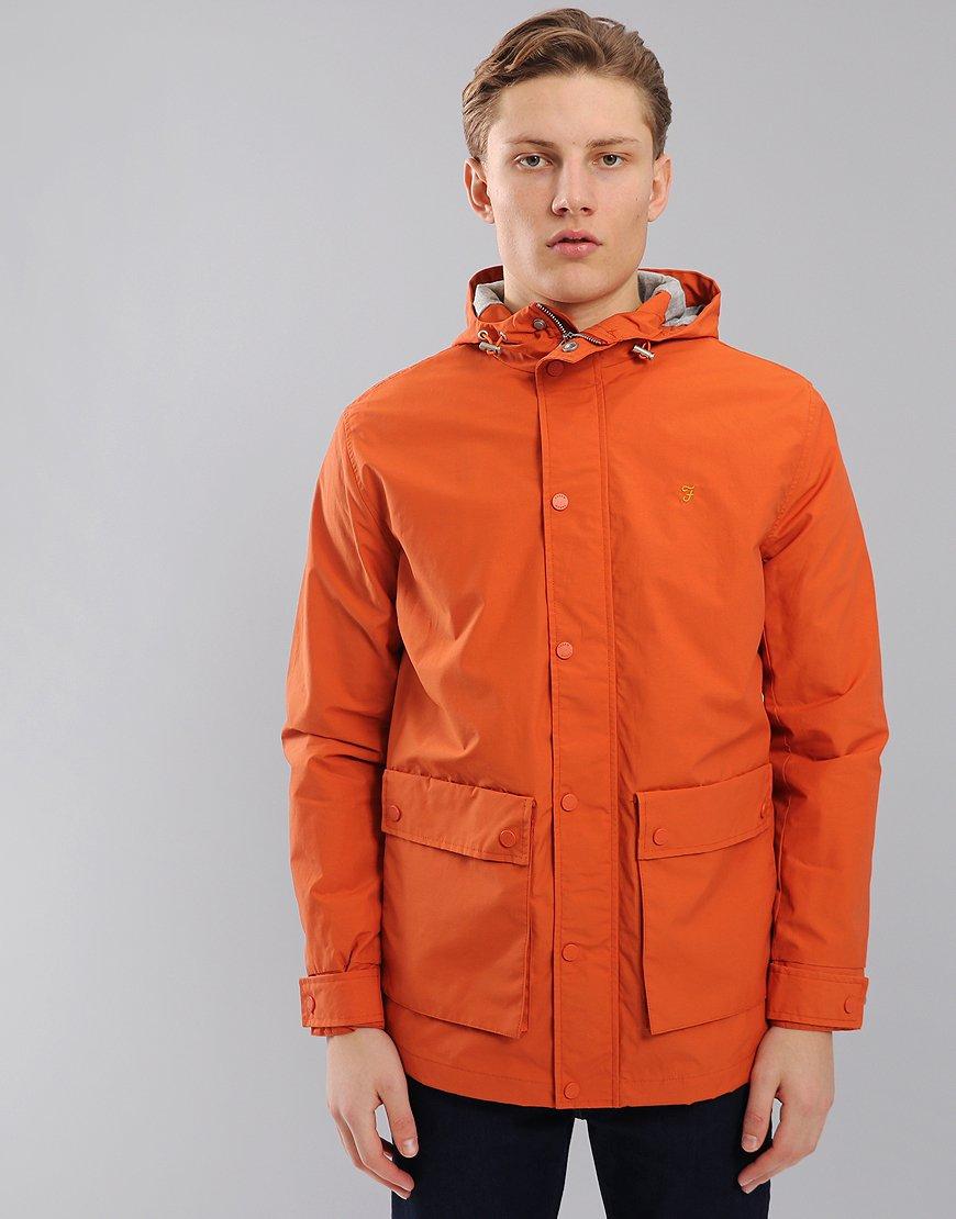 Farah Rourke Parka Orange