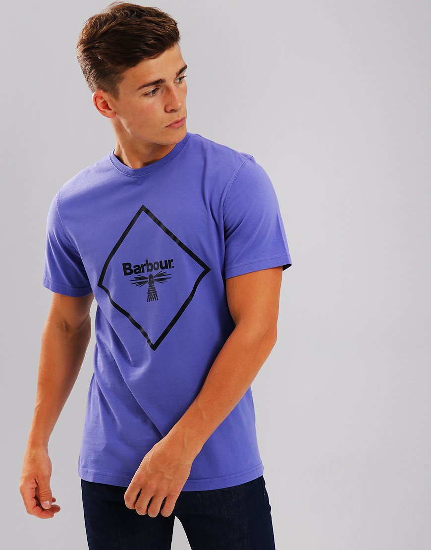 Barbour Beacon Large Logo T-Shirt Heather