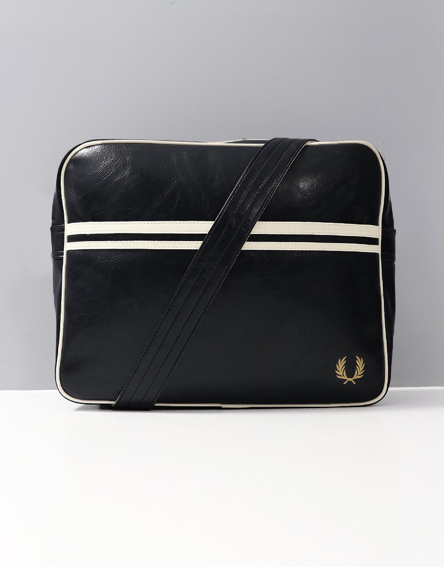 Fred Perry Shoulder Bag  Black