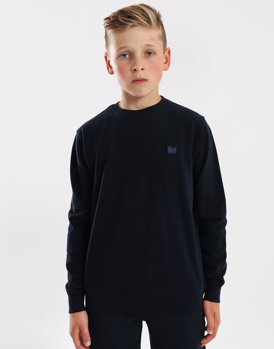 Weekend Offender Kids Finney Sweatshirt Navy