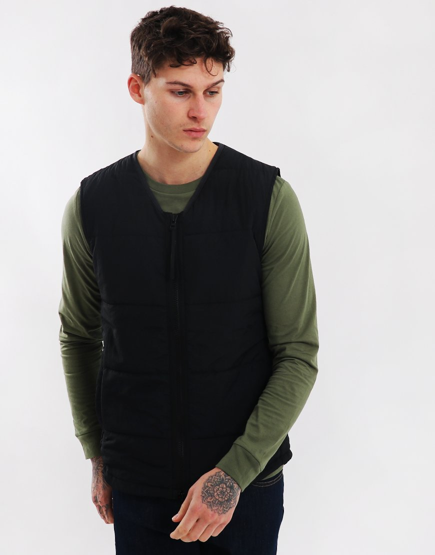 Penfield Pulse Insulated Gilet Vest in Black