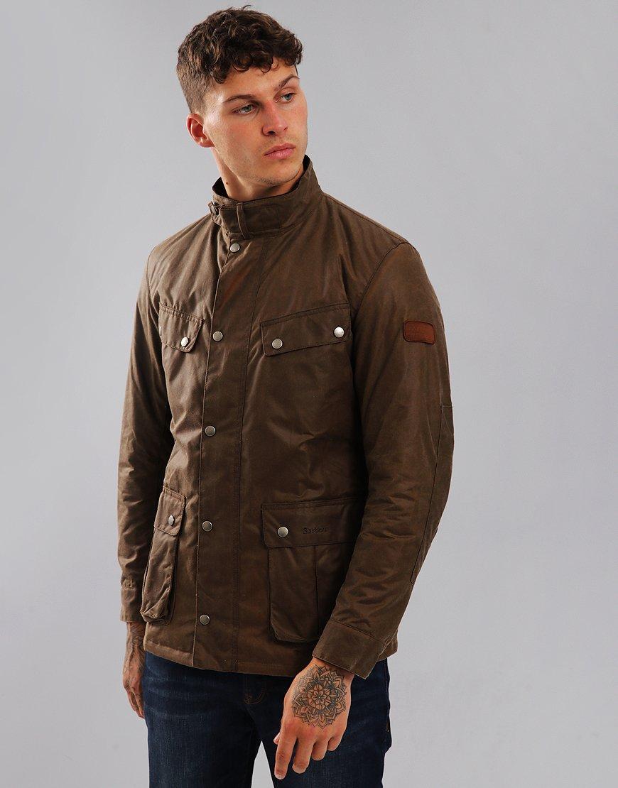 Barbour International Duke Wax Jacket Bark