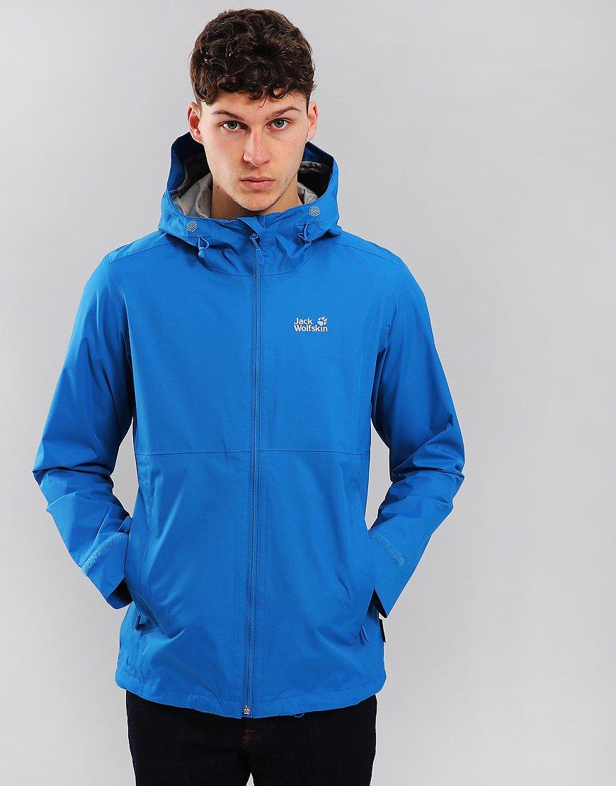Jack Wolfskin Arroyo Hooded Jacket Electric Blue