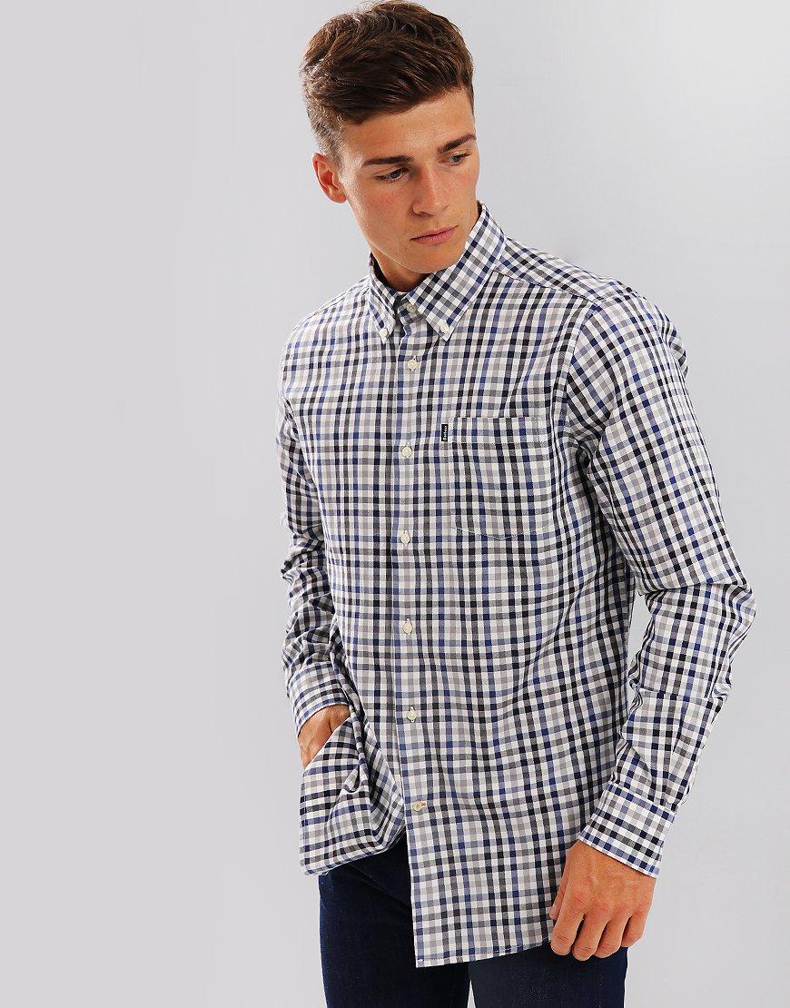 Barbour Bibury Check Shirt Grey