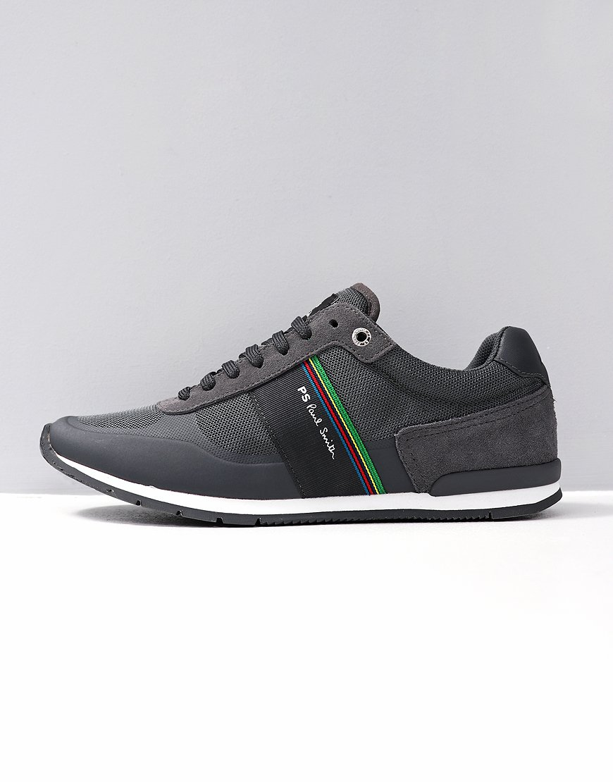 Paul Smith Ericson Cycle Stripe Trainers in Grey