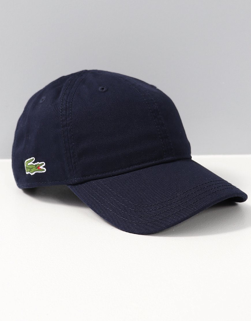 Lacoste Kids Cap Navy Blue - Terraces Menswear d48f3cc352a