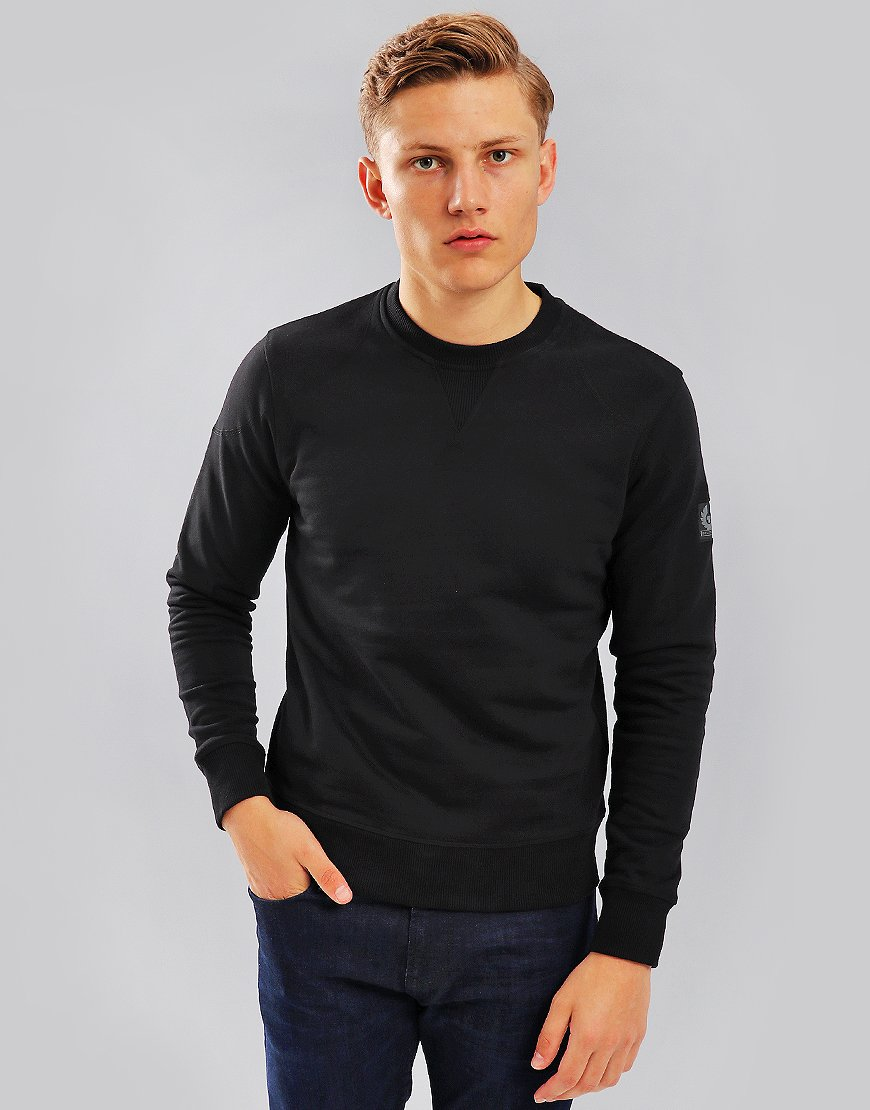 Belstaff Jefferson Crew Sweat Black