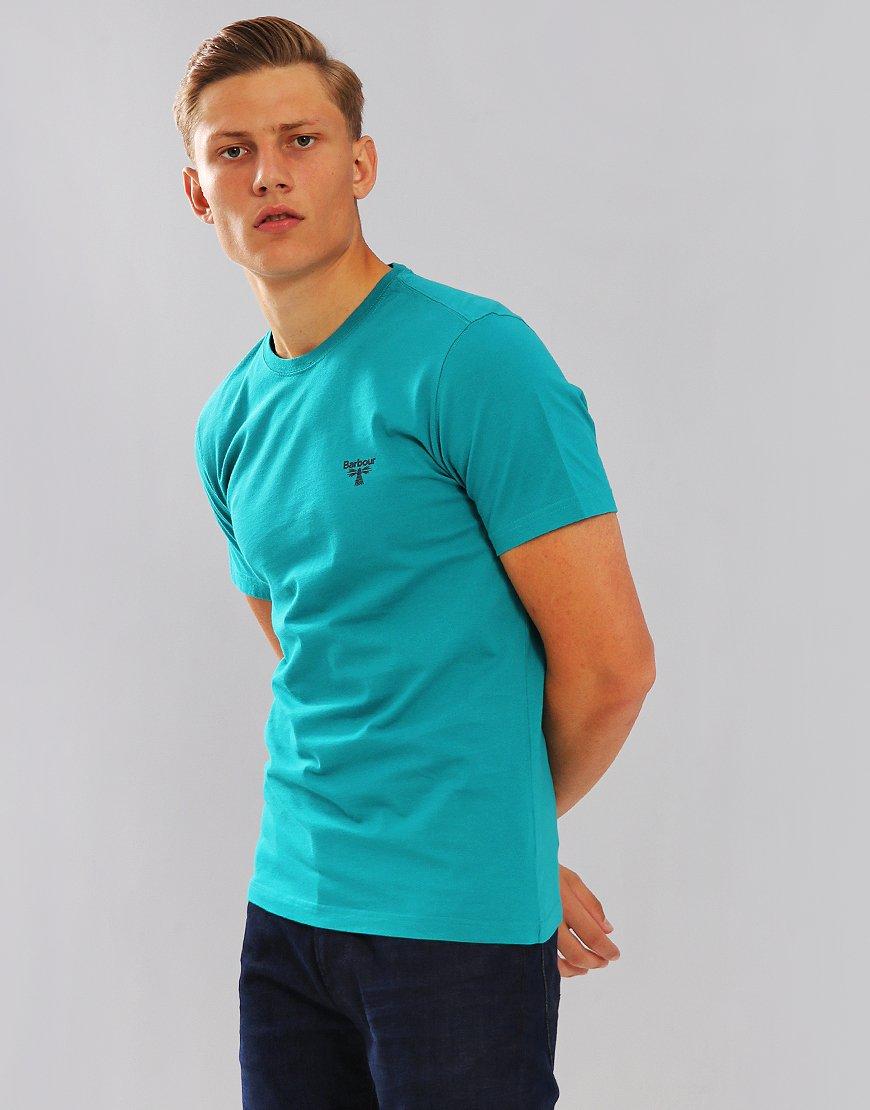 Barbour Beacon Logo T-Shirt Pine Green