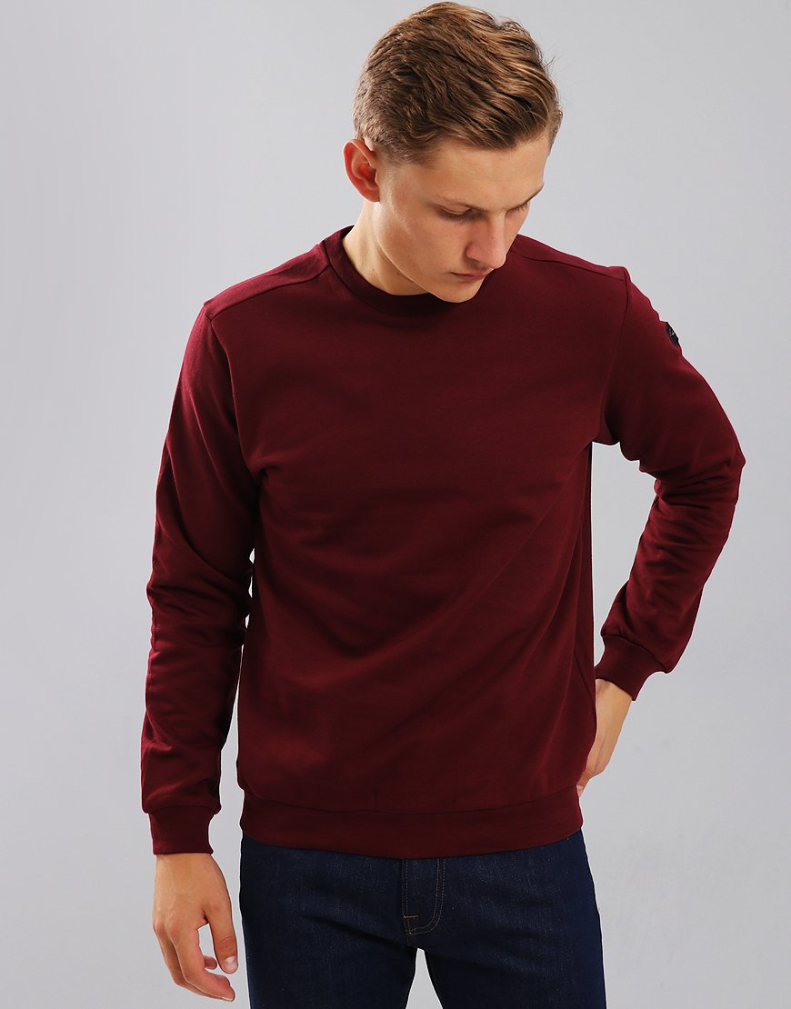 Paul & Shark Crew Neck Sweatshirt Dark Wine