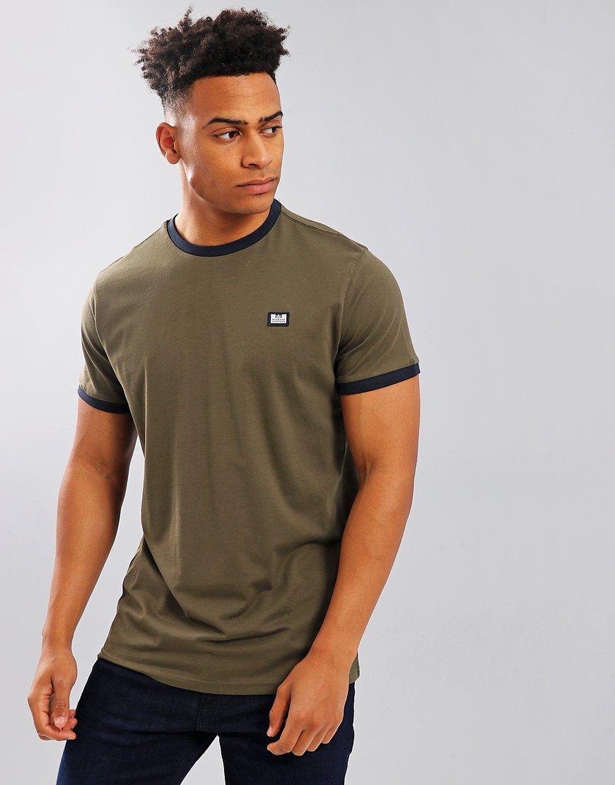 Weekend Offender Scheter T-Shirt Khaki