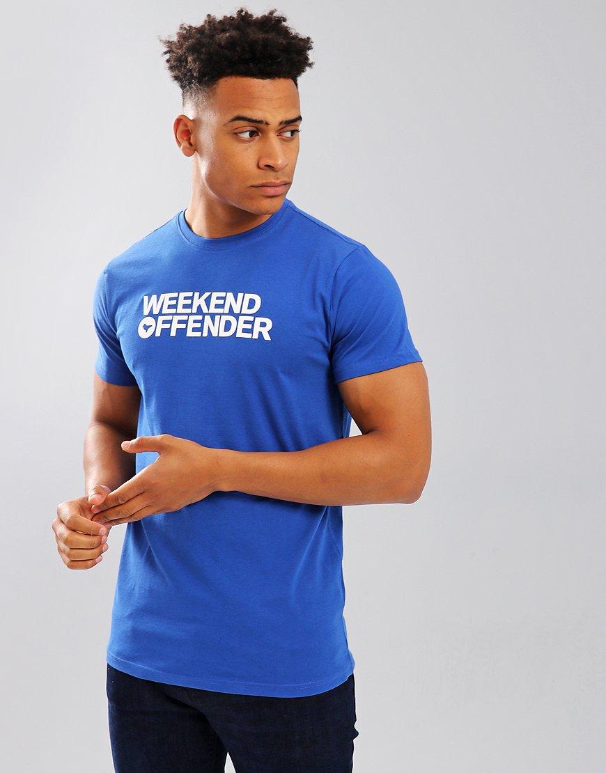 Weekend Offender Godin T-Shirt Royal