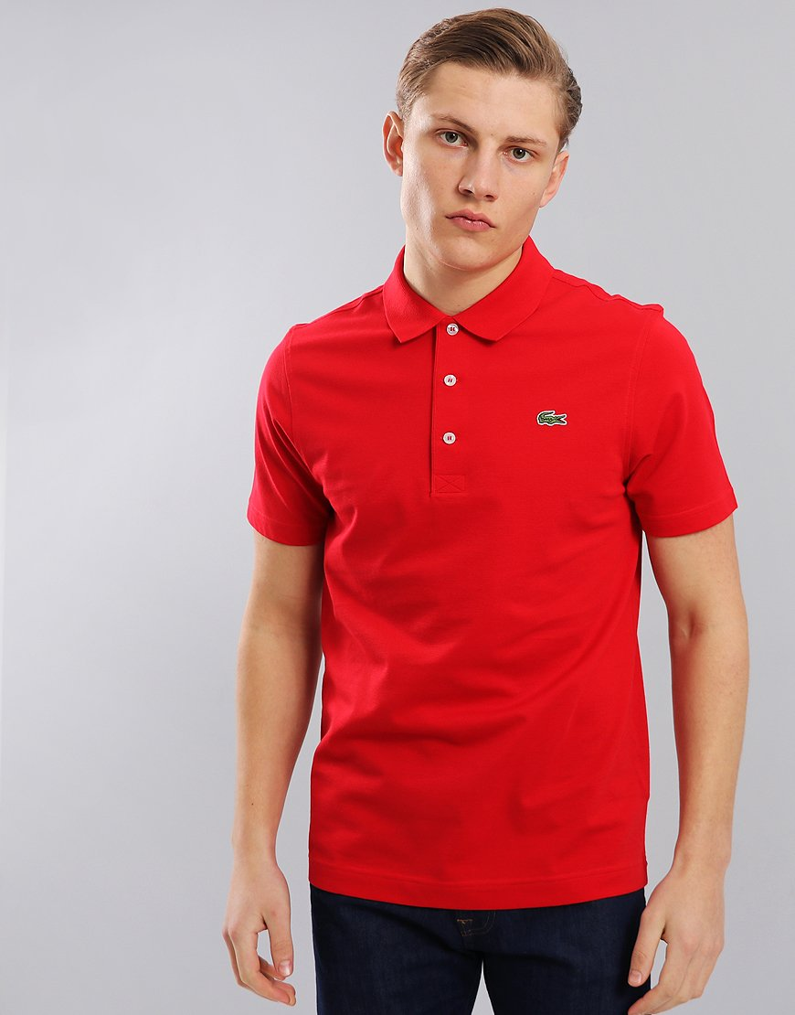 Lacoste Sport Polo Shirt Red
