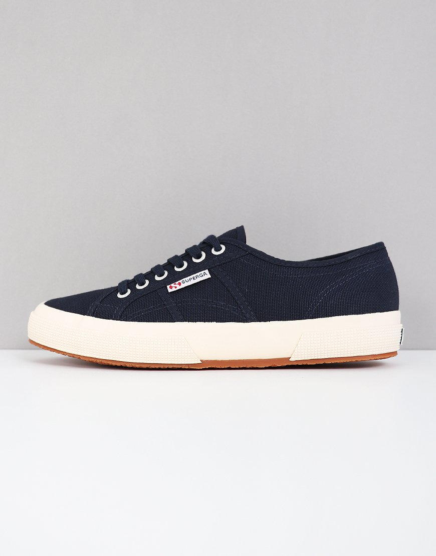 Superga Cotu Classic 2750 Canvas Trainers Navy