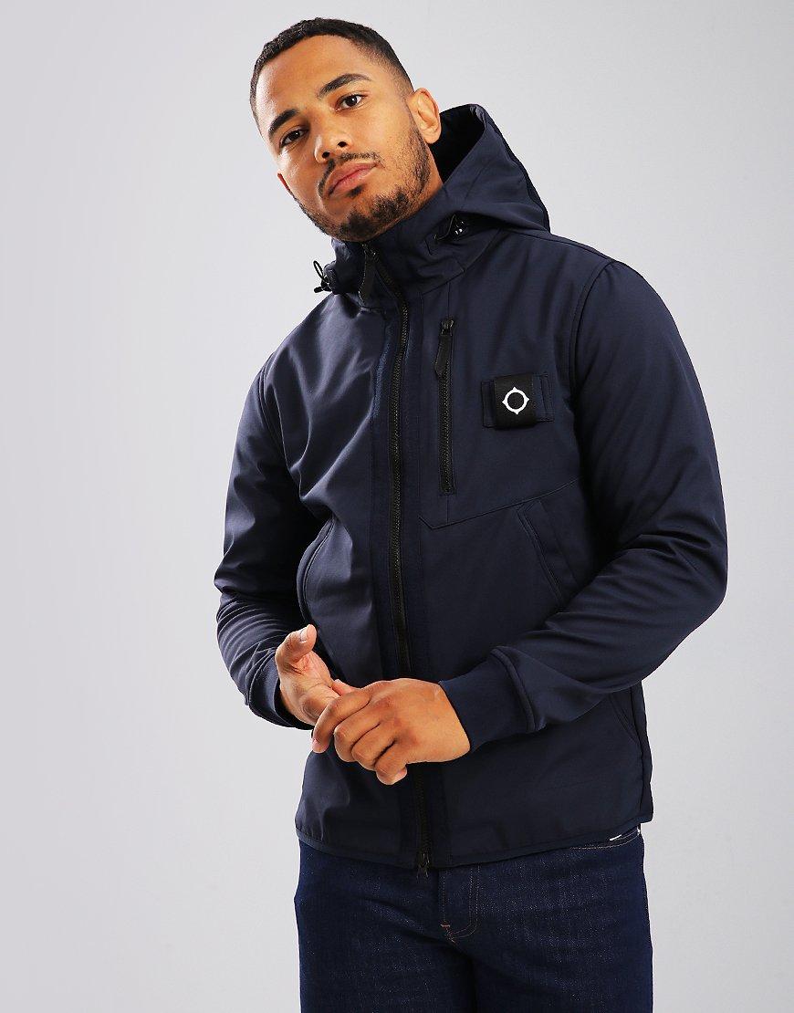 MA.Strum Titan Soft Shell Jacket True Navy