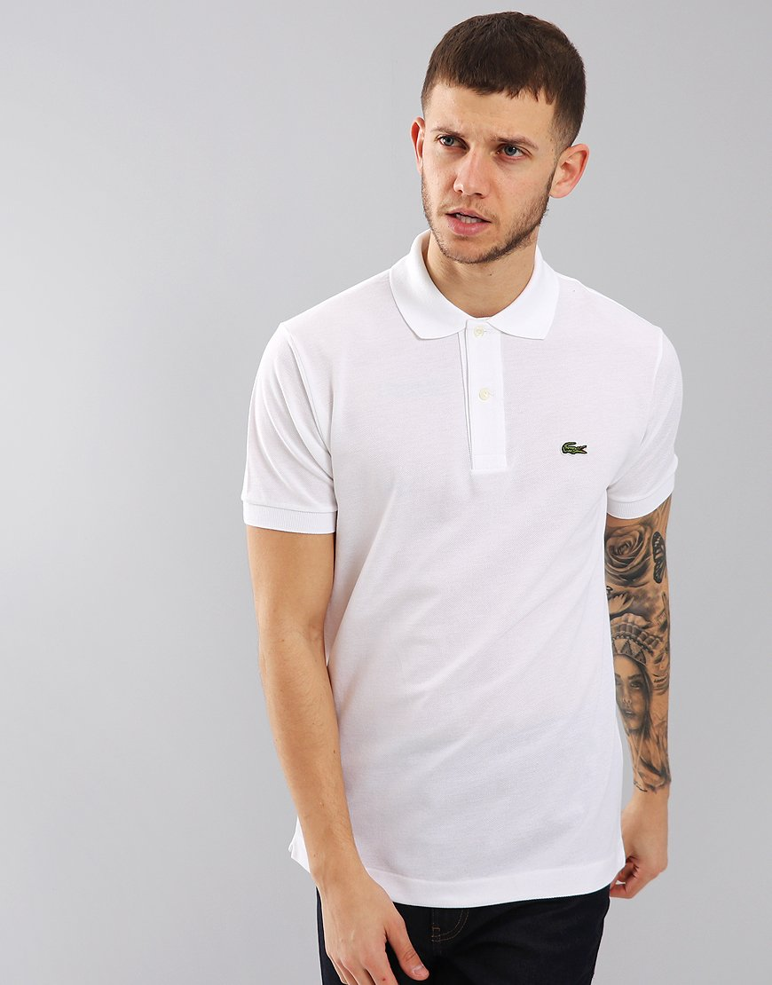 Lacoste Best Polo Shirt White