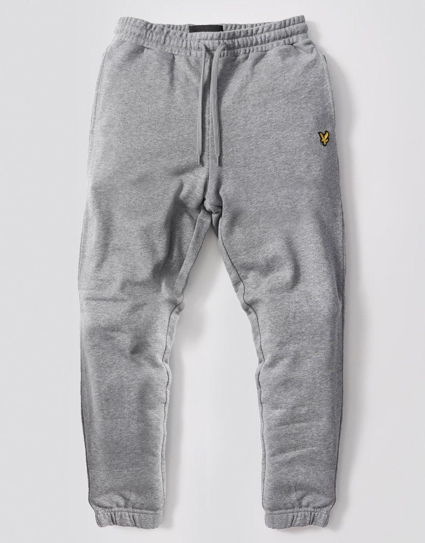 Lyle & Scott Slim Fit Track Pants Mid Grey Marl