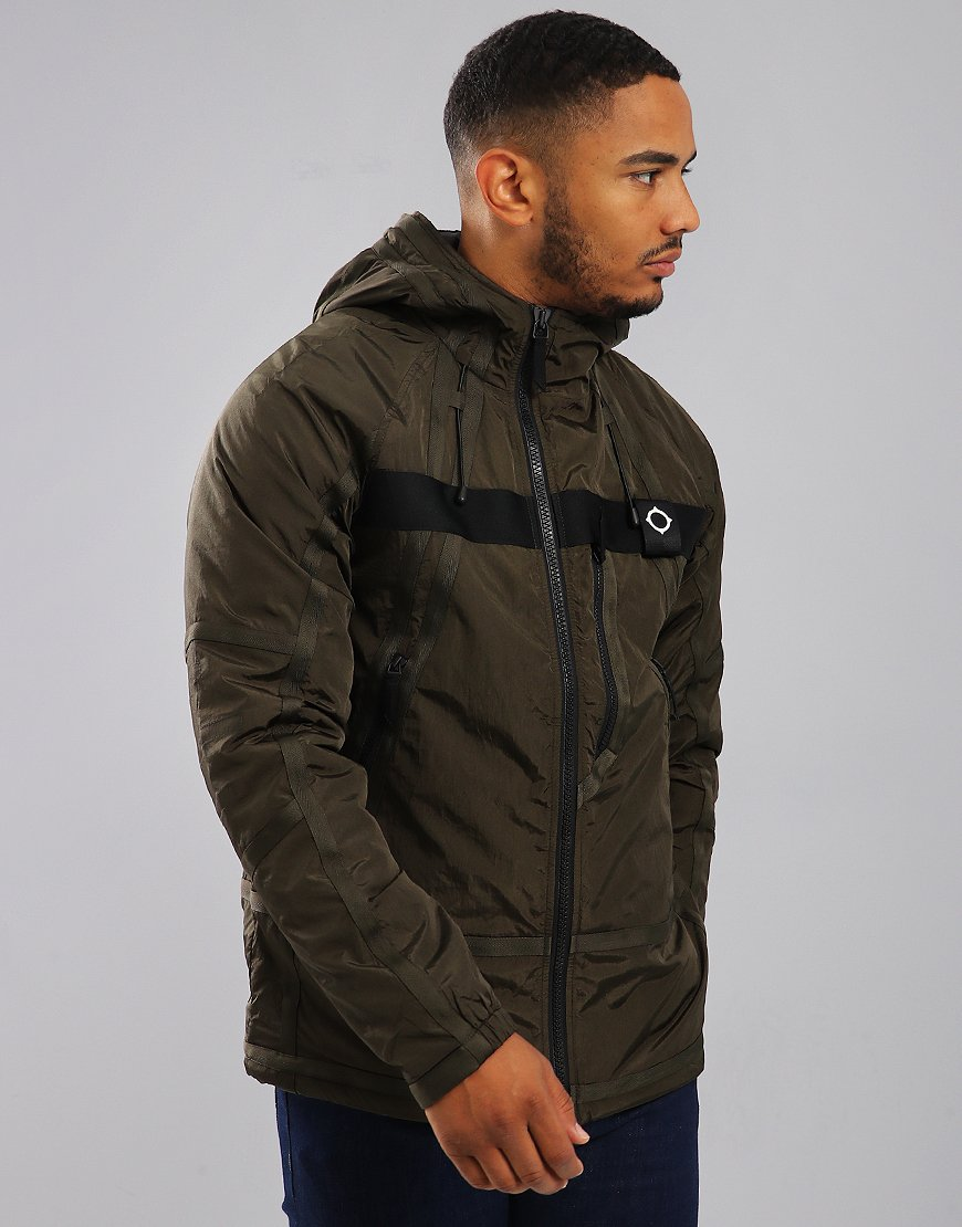 MA.Strum Compression Jacket Dark Khaki